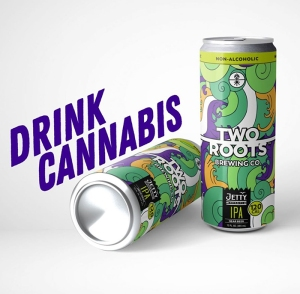 weed drinks, thc drinks, weedmaps, weed, two roots drink, two roots weed